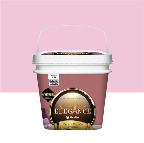 Tudo sobre 'Tinta Acrílica Fosco Decora Paredes Premium Rosa 2,5L Elegance'