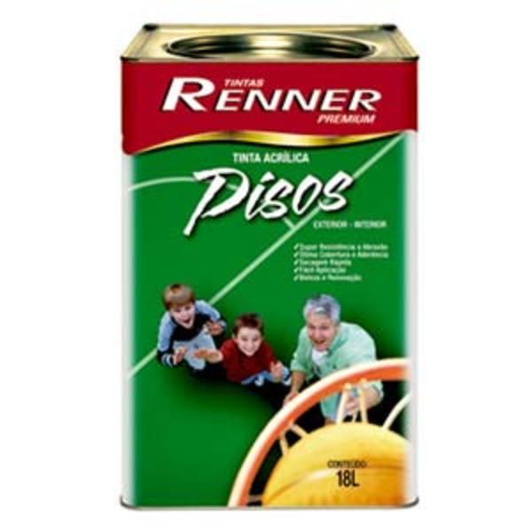 Tinta Acrílica Fosco Piso Premium Verde 18L Renner