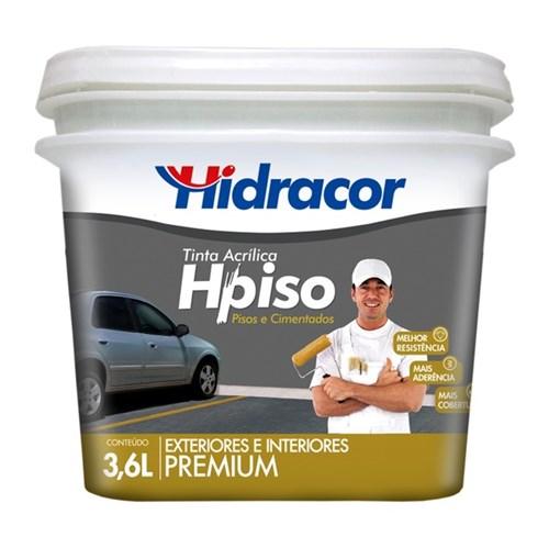 Tinta Acrílica Fosco Piso Premium Amarelo Demarcação 3,6L Hidracor