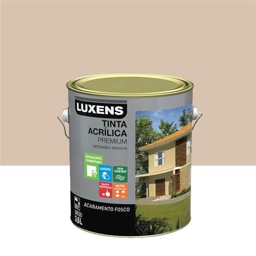 Tinta Acrílica Fosco Premium Areia 3,6L Luxens
