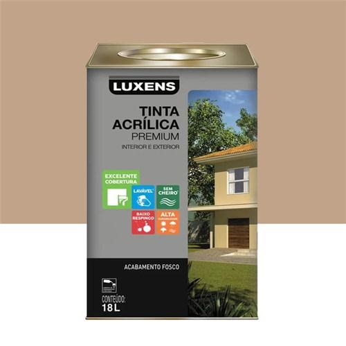 Tinta Acrílica Fosco Premium Camurça 18L Luxens
