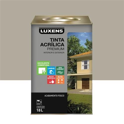 Tinta Acrílica Fosco Premium Fendi 18L Luxens