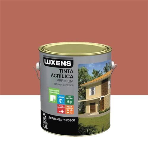 Tinta Acrílica Fosco Premium Terracota 3,6L Luxens