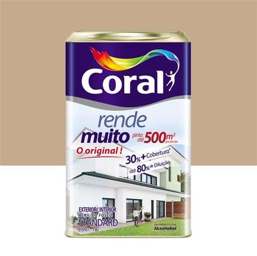 Tinta Acrílica Fosco Rende Muito Standard Camurça 18L Coral