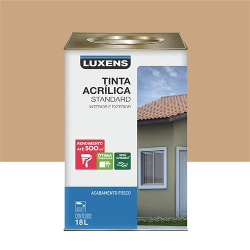 Tudo sobre 'Tinta Acrílica Fosco Standard Areia 18L Luxens'