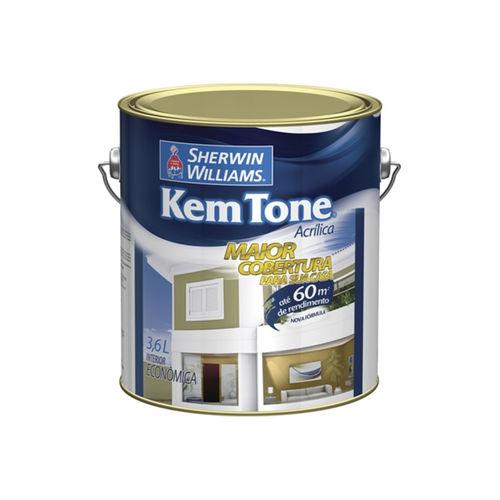 Tinta Acrílica Kem Tone Pérola 3,6 Litros
