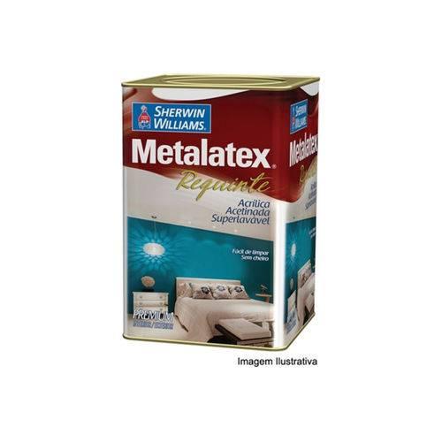 Tinta Acrílica Premium Acetinada Metalatex Requinte Branco 18 Litros