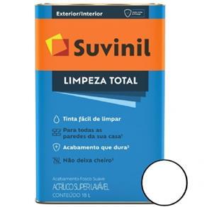 Tinta Acrílica Premium Limpeza Total 18L Branco Suvinil