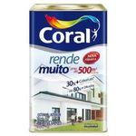 Tinta Acrílica Rende Muito 18l Branco Coral