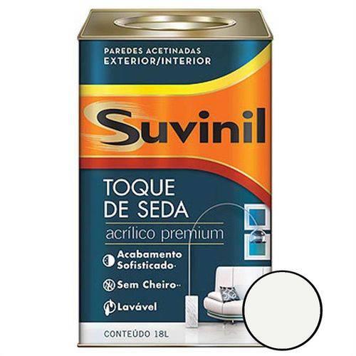 Tinta Acrílica Toque de Seda 18 Litros Branco Neve - 53422342 - SUVINIL