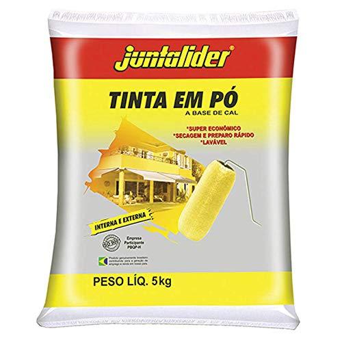 Tinta em Pó Juntalider 5kg Amarelo