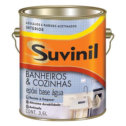 Tinta Epóxi Acetinado Premium Branco Suvinil 3,6L