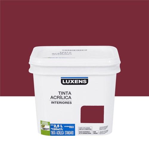 Tudo sobre 'Tinta Fosca Acrílica Marsala 2,5L Luxens'