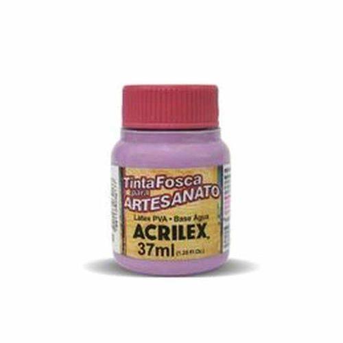 Tinta Fosca para Artesanato 37ml Acrilex Lilás 528