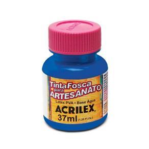 Tinta Fosca para Artesanato - Acrilex - 501 - AZUL TURQUESA