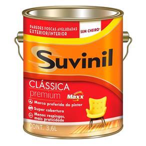 Tinta Látex Clássica Suvinil 3,6 Litros Camurça