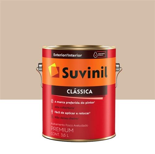 Tinta Látex Fosco a Clássica Maxx Premium Areia 3,6L Suvinil