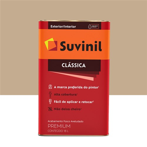 Tinta Látex Fosco a Clássica Maxx Premium Camurça 18L Suvinil