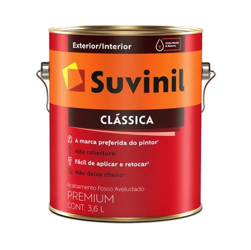 Tinta Látex Fosco a Clássica Maxx Premium Camurça 3,6L Suvinil