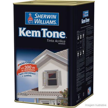 Tudo sobre 'Tinta Látex Kemtone Vinil Acrílico 18 Litros Branco Sherwin Williams'