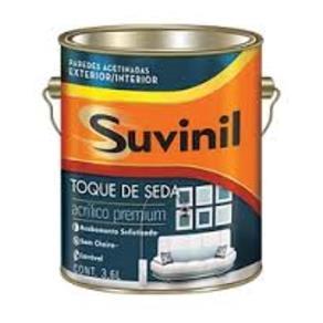 Tinta Látex Toque de Seda Suvinil 3,6 Litros Branco Neve