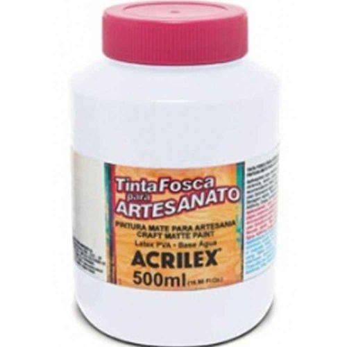 Tinta para Pva 500 Ml Fosca 519 Branca Acrilex