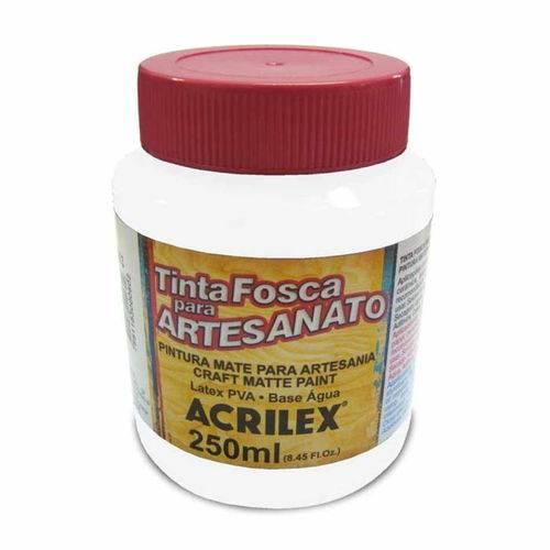 Tinta para Pva 250ml Fosca - 519 Branco Acrilex