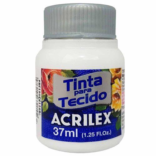 Tinta para Tecido 37ml 519 Branco Acrilex 900098