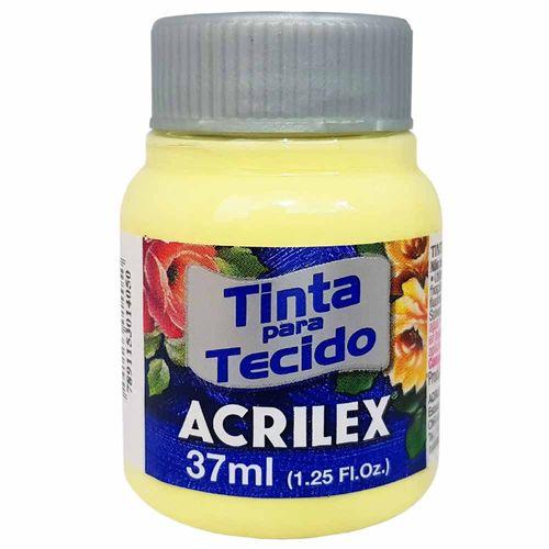 Tinta para Tecido 37ml 808 Amarelo Bebê Acrilex 999081