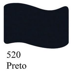 Tinta para Tecido Acrilex Fosca -520-Preto