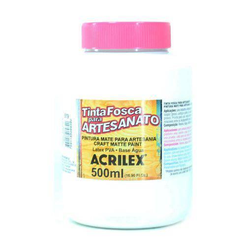 Tinta para Tecido Acrilex Fosca 500ml