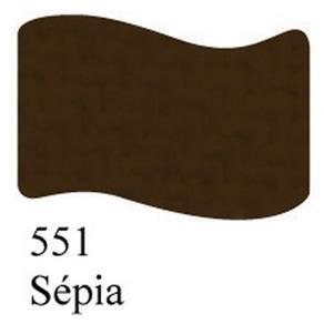 Tinta para Tecido Acrilex Fosca -551-Sepia