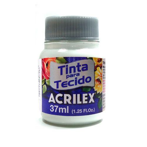Tinta para Tecido Acrilex Fosca 37ml - 519-BRANCO
