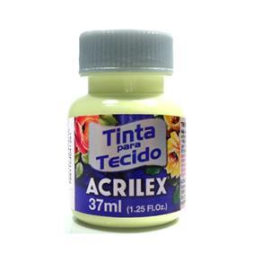 Tinta para Tecido Acrilex Fosca 37ml-808-AMARELO BE.
