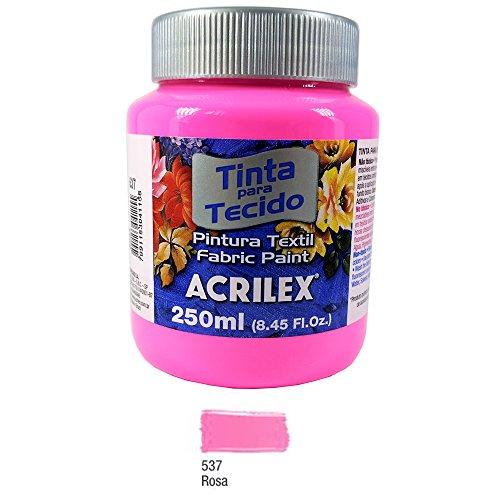 Tinta para Tecido Fosca 250ml Acrilex - Rosa