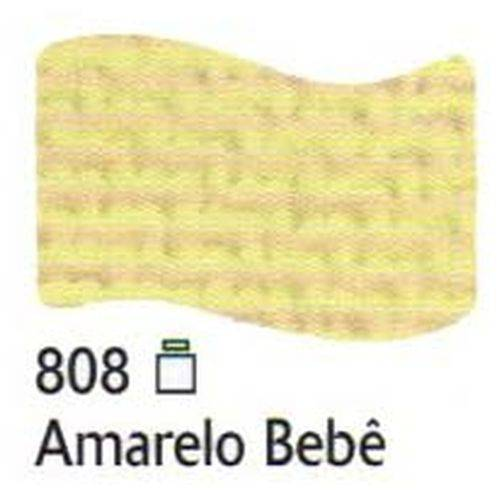 Tinta para Tecido Fosca Acrilex 37Ml Amarelo Bebe