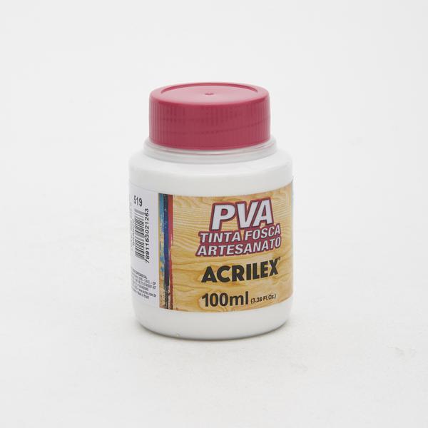 Tinta PVA Fosca Acrilex Branco 100ml