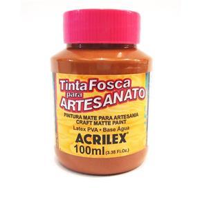 Tinta PVA Fosca para Artesanato 100ml 531 Marrom - Acrilex 996495