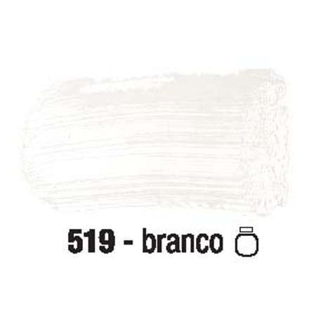 Tinta PVA Fosca para Artesanato 100ml 519 - Branco