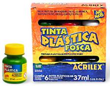 Tinta Pva Plastica 37ml Magenta 549 Acrilex - 952380