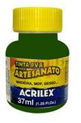 Tinta Pva Plástica 37ml Verde Musgo 513 Acrilex - 1