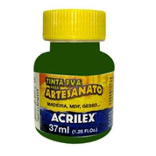 Tinta Pva Plástica 37ml Verde Musgo 513 Acrilex