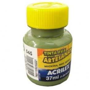 Tinta Pva Plástica 37Ml Verde Oliva 545 Acrilex