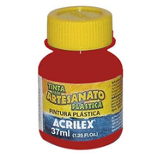 Tinta Pva Plástica 37ml Vermelho Escarlate 508 Acrilex