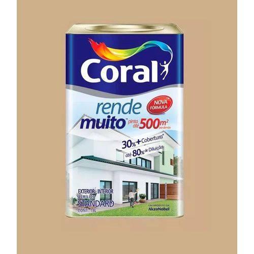 Tinta Rende Muito Acrilico Camurca 18l Coral
