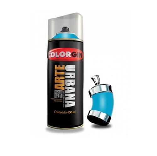Tinta Spray 400ml Arte Urbana Azul Celeste 965 Colorgin