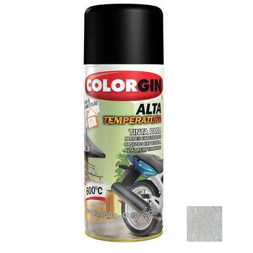 Tinta Spray Alta Temperatura 300ML Aluminio - Colorgin