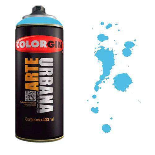 Tinta Spray Arte Urbana Colorgin 400ml Azul Celeste - 965