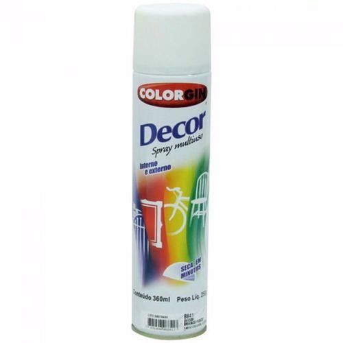 Tudo sobre 'Tinta Spray Branco Brilhante Decor 8641 Colorgin'