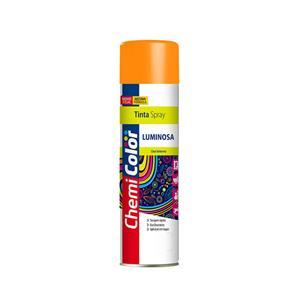 Tinta Spray Chemicolor Luminosa Laranja 400ml